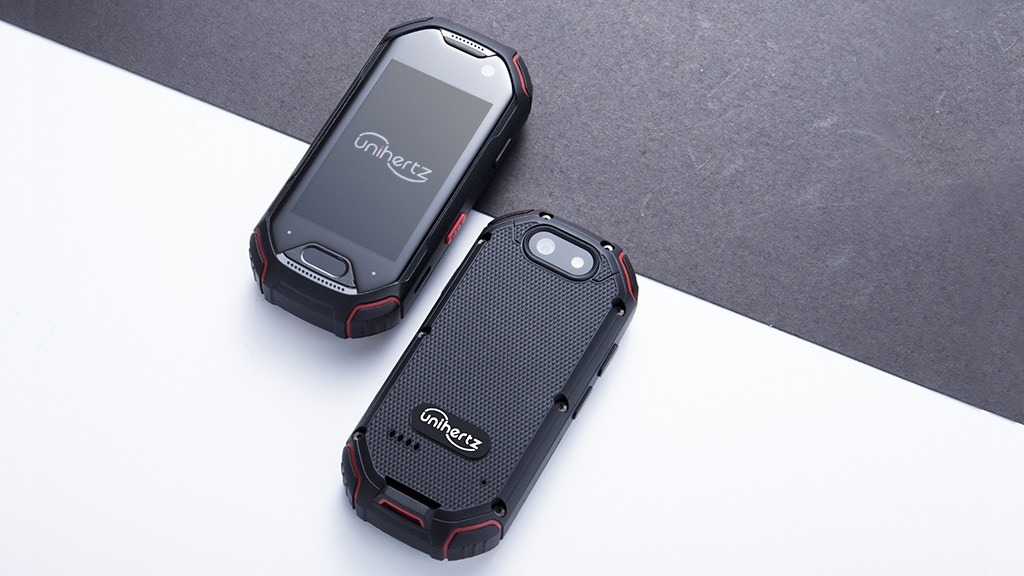 The Smallest 4G Rugged Phone
